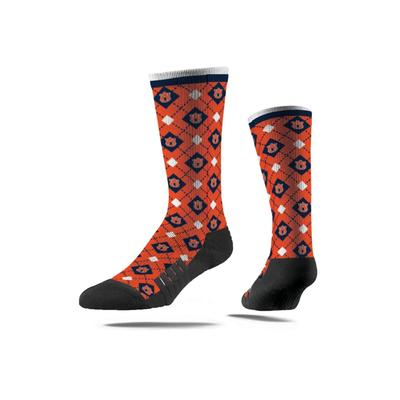 Auburn Premium Repeat Full Slub Sock