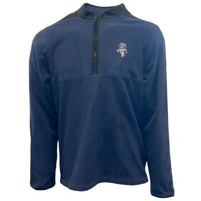 UNC Nike Golf Men's Strut Victory 1/2 Zip Micro Fleece Pullover