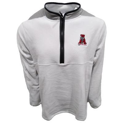 Alabama Nike Golf Men's Vault Logo Victory 1/2 Zip Micro Fleece Pullover