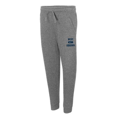 West Virginia Nike YOUTH Club Fleece Jogger Pants