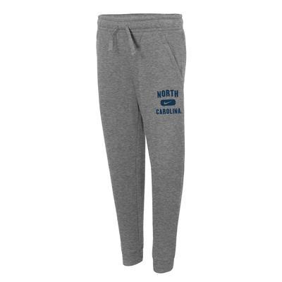 UNC Nike YOUTH Club Fleece Jogger Pants