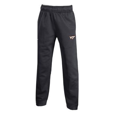 Virginia Tech Nike YOUTH Fleece Therma Pants