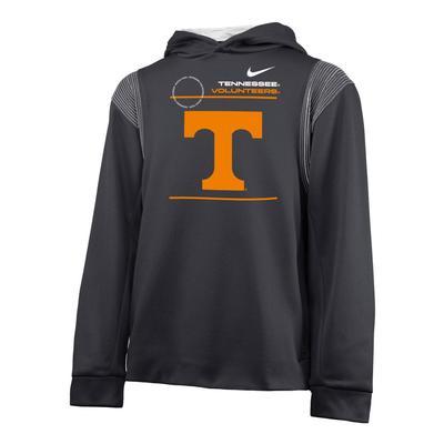 Tennessee Nike YOUTH Therma Fleece Hoodie
