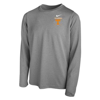 Tennessee Nike YOUTH Legend Dri-Fit Long Sleeve Tee