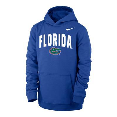 Florida Nike YOUTH Club Fleece Hoodie