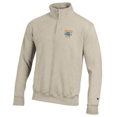 Tennessee Champion Lady Vols Oatmeal 1/4 Zip Pullover