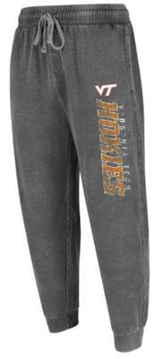 Virginia Tech Trackside Burnout Knit Pant