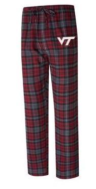 Virginia Tech Men's Takeaway Flannel Pant