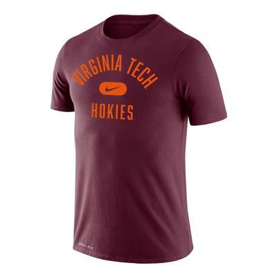 Virginia Tech Nike Dri-Fit Legend Arch T-Shirt