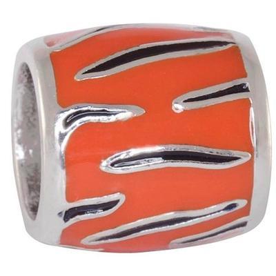 Auburn Charm Tiger Stripe Bead