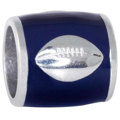 Auburn Charm Football Bead