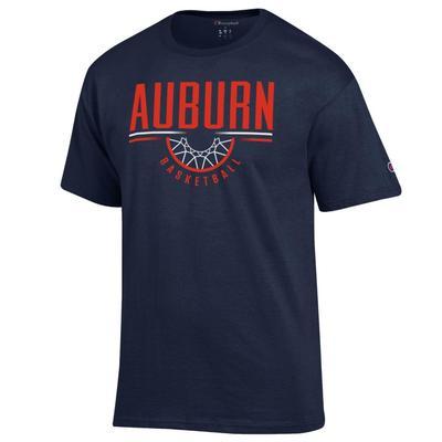 Auburn Champion Men's Wordmark Goal Tee