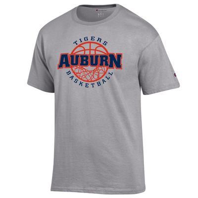 Auburn Champion Men's Wordmark Basketball Net Tee