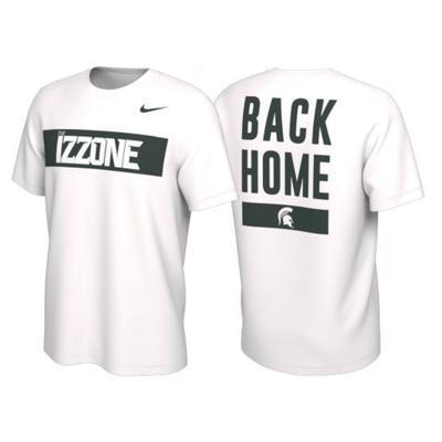 Michigan State Nike Izzone Short Sleeve Tee