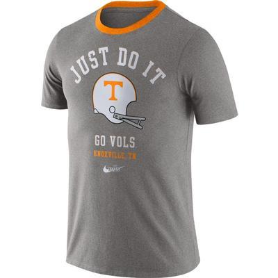 Tennessee Nike Throwback Helmet Vault Short Sleeve Tee