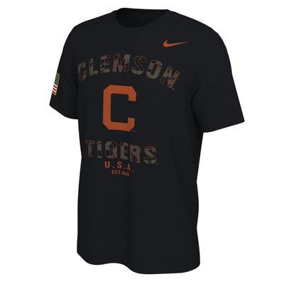 Clemson Nike 2021 Veterans Day Short Sleeve Tee