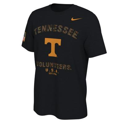 Tennessee Nike 2021 Veterans Day Short Sleeve Tee