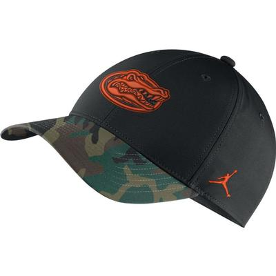 Florida Nike Camo Brim Adjustable Hat
