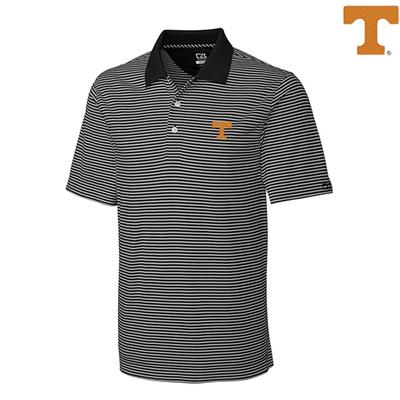 Tennessee Cutter and Buck Big and Tall Trevor Stripe Polo