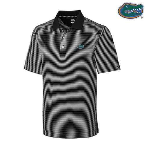 Florida Cutter And Buck Big And Tall Trevor Stripe Polo