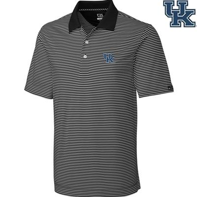 Kentucky Cutter and Buck Big and Tall Trevor Stripe Polo