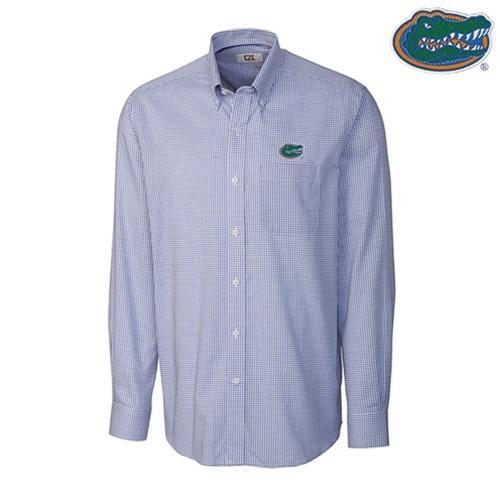 Florida Cutter & Buck Big And Tall Tattersall Woven Shirt