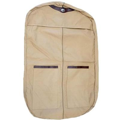 Auburn Waxed Canvas Garment Bag