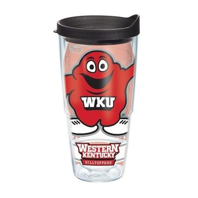 Western Kentucky Tervis 24oz Big Red Wrap Tumbler
