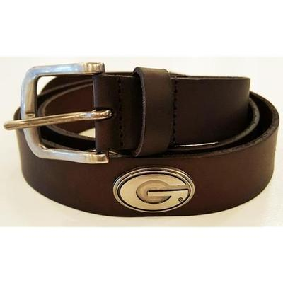 Georgia Power G Logo Concho Belt