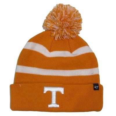 Tennessee Breakaway Knit Cap With Pom