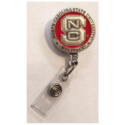 Nc State Emblem Badge Reel