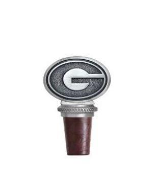 Georgia Heritage Pewter Bottle Stopper