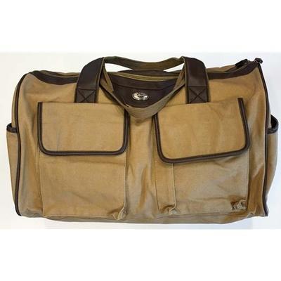 Georgia Waxed Canvas Weekender Bag