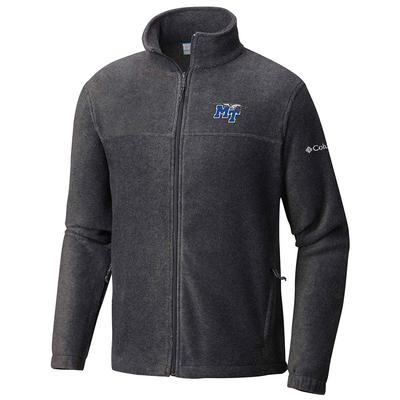 MTSU Columbia Flanker Full Zip Jacket CHARCOAL