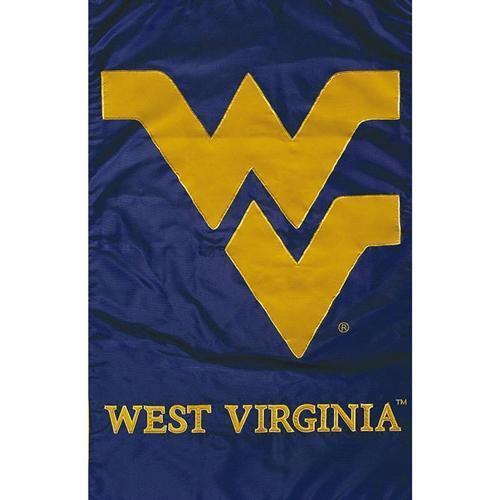 West Virginia Mountaineers Garden Flag 12.5