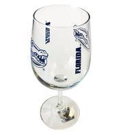 Florida Gameday Wine Glass
