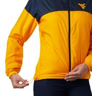 West Virginia Women's Columbia CLG Flash Forward Lined Jacket