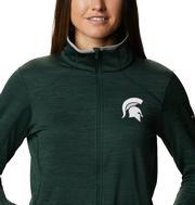 Michigan State Columbia Women's CLG Sapphire Trail Fleece Jacket