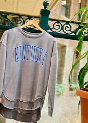 Kentucky Pressbox Bell Lap Vintage Wash Sweater