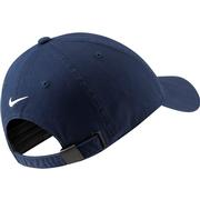 West Virginia Nike Golf Vault WVU H86 Washed Adj Hat