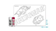 Arkansas Combo Logos Stencil Kit