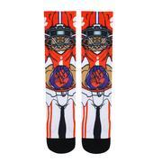 Clemson Rock'em Hyperoptic Playmaker Socks