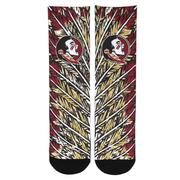 Florida State Rock'em Feathers Socks