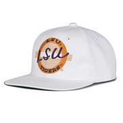 LSU Retro Circle Adjustable Flatbill Hat