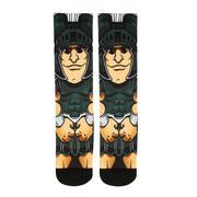 Michigan State Rock'em Hyperoptic Mascot Socks