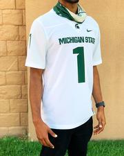 Michigan State Nike #1 Replica Football Jersey