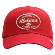 Alabama Top of the World Tattered Patch Crew Hat
