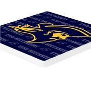 ETSU 4pk Primary Repeat Logo Coaster